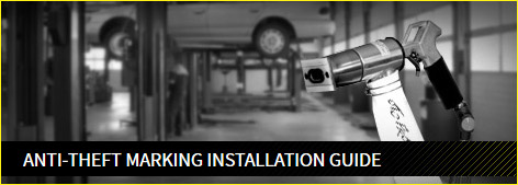 Anti-theft marking installation guide