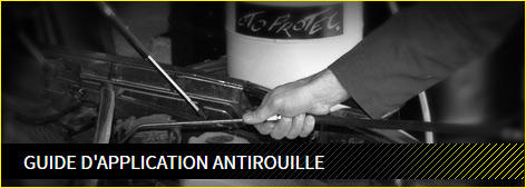 guide d'application antirouille