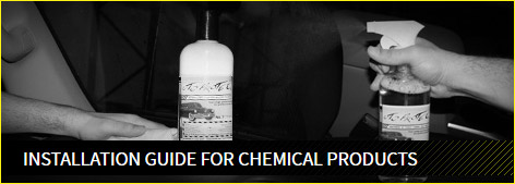 Installation guide for chemical products